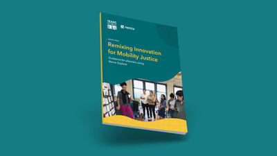 Cover of Remixing Innovation for Mobility Justice
